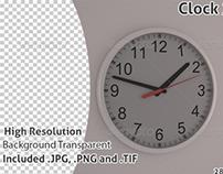 Clock 3D Render