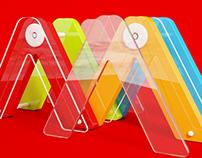 Logo 3D illusration