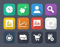 Flat Icons (Part 1)