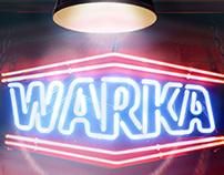 Warka - neon