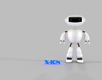 X-ION Robot (3D Modelling)