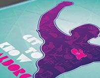 Aalborg Marathon 2013 Poster Design