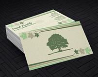 Landscapes & More Stationary/Brochure Redesign