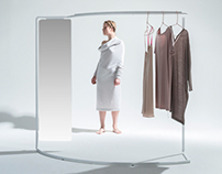 CLOTHING STAND FOR ''LEMUSE''