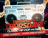 Generic Throwback Thursday Flyer 2