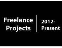 Freelance Projects -2012 to present