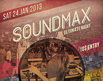 Soundmax Flyer / Poster