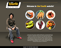 Chef Tawfik Web Design