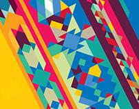 Alef Magazine: Cover ➔ PATTERN DESIGN