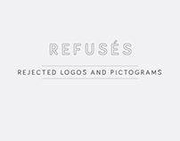 REFUSÉS - repudiated logos