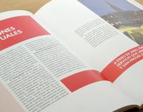 """Ferrovías"" - Editorial Design"