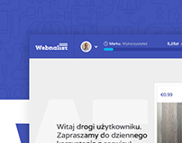 Webnalist. Web.