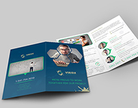 Viridx Business Bi-Fold Brochure