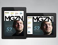 iPad/Tablet Magazine InDesign Layout 02