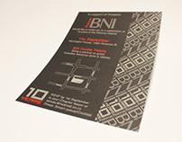 BNI 10 years in Rotorua flyer