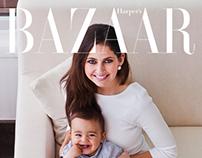 Harper's Bazaar Interior - Hillside Haven