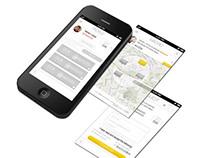 UI Design Blink Screens