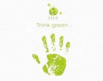 SEED Think Green Campaign Posters