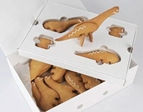 Walking with dinosaurs... biscuits