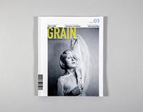 Publication Design Project // GRAIN Magazine