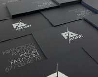 FA Design · Self Identity, Promos and Website