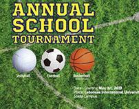 School Tournament Poster
