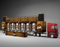 Ação criada para Conti beer
