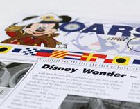 "Disney Cruise Line ""Oars & Ears"" graphics"