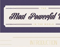 The Most Powerful Women in the World Infographics