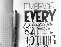 Lettering & Sketches