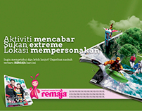 Remaja Magazine Advertising Rebranding