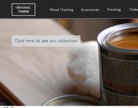 Original Timber website concept