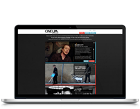 Cineum Online Network Branding & Web Design
