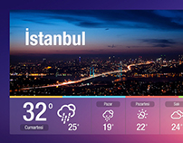 Weather App // Digital Signage