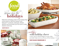 Home for the Holidays - Brand Email (Nov. '12)