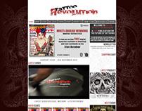 Tattoo Revolution Website