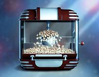 Popcorn machine iOS icon