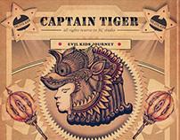 captain tiger&daimond bubble queen