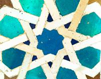 Islamic Geometric Patterns in Alhambra