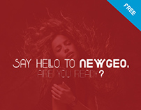 Newgeo (Free font family)