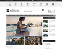Alotrip website - travel website