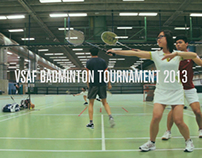 VSAF Badminton Tournament 2013 Promo No.1
