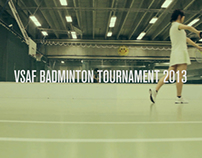 VSAF Badminton Tournament 2013 Promo No.2
