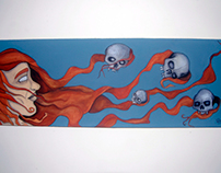 ''Su cabeza sangra los cadaveres de un pasado oscuro''