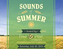 Sounds of Summer (invitation)