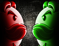 Pringles - Red vs Green (Integrated Campaign)