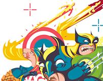 15 Superheroes