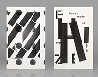 F U N Z I N E - Nº. 3 Typo-Graphic A to Z