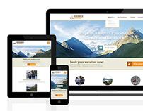 Horseback Adventures: Logo & Website Redesign