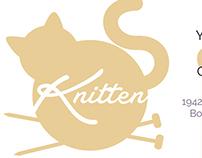 Knitten Yarn & Cats - Branding